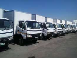 4 tonne Toyota Dyna closed bodies for sale