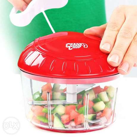 Crank Chop Food Chopper and Processor