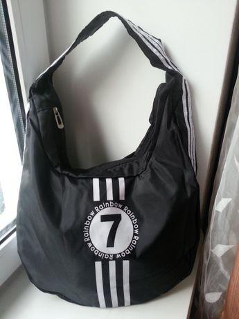 60459b66 Новая спортивная черная сумка на плече Rainbow collection Ровно -  изображение 1
