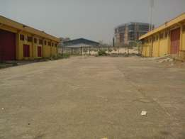 Massive 2 units warehouse and offices for rent at Wuse Zone 5
