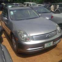 Nigerian Used INFINITI 2005, Full-Option, Excellent Condition.