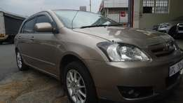 2007 Toyota Runx 140RS with 82000km