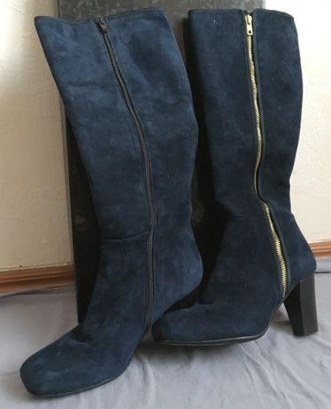 Жіночі оригінальні замшеві чоботи Італія 39р.  5 000 грн. - Жіноче ... 0f585bf0ca9bd