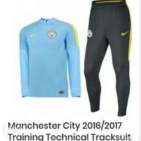 Brand new Manchester City training technical tracksuit