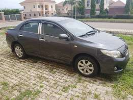 Registered Toyota Corolla (2007)