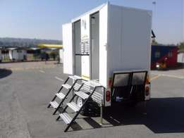 On Sale NOW!!Buy a 2.3M VIP TOILET TRAILER for only R98 890!