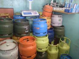 offer for complete gas cylinders