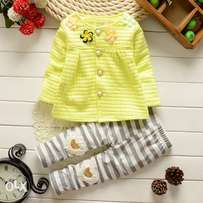 Baby girls cardigan set Christmas outfit