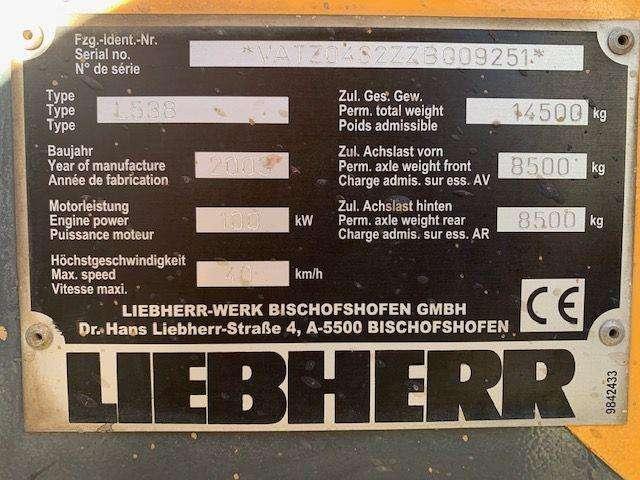 Liebherr L 538 L 538 - 2003 - image 6