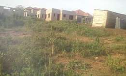 Plots in sonde town Namugongo after shrine