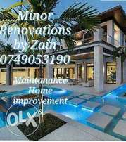 Minor Renovations by Zain