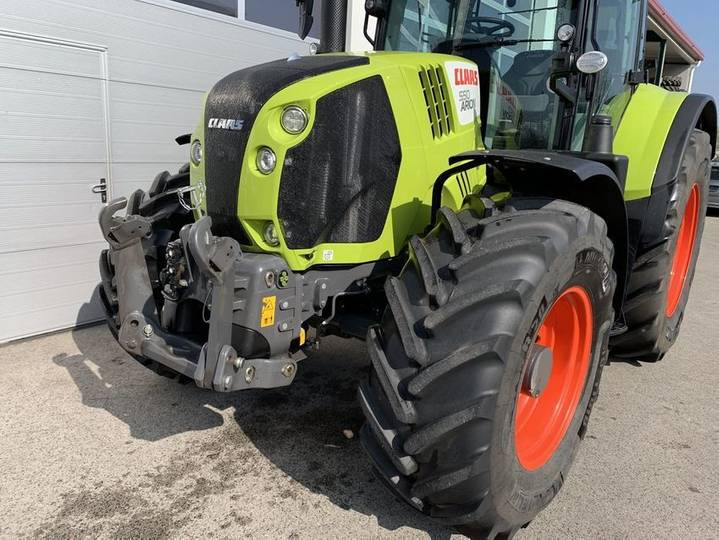 Claas Arion 550 Cebis Cmatic - 2018 - image 2