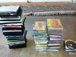 Music cd's and DVD's