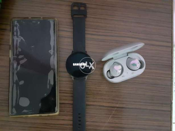 Note 10 + active 2 watch + air buds