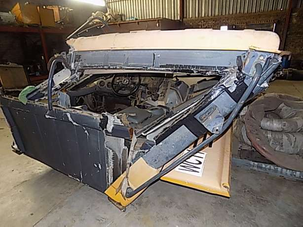 Bell B30D Cab Stripping for Spares Memel - image 1