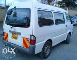2008 Mazda Bongo KCE Manual petrol 1800cc. Super Clean!!