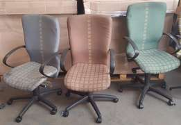 (R) March Special : Grey Office Swivel Chairs from R600 each