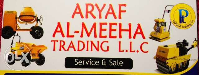 Sale and Service of every construction equipments