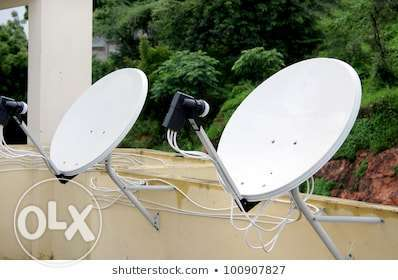 #All kinds of satellite selling and installation work just call me on