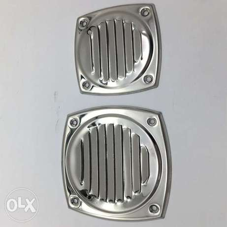 Marine Stainless Steel 304 Thru Vent Stamped Vent for Yacht Boat Marin