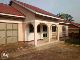 Three bedroom standalone house is available for rent in namugongo