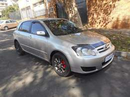Toyota Runx 1.4i sport 2007 model silver in color 85000km R85000 mags