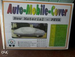 Car external body covers in shop