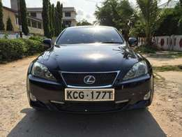 Lexus IS250 - excellent condition available in mombasa