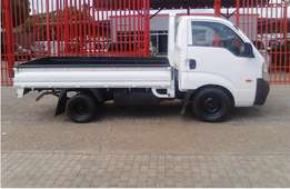 Kia Bakkie for Hire available for long distance--- Gauteng to Limpopo