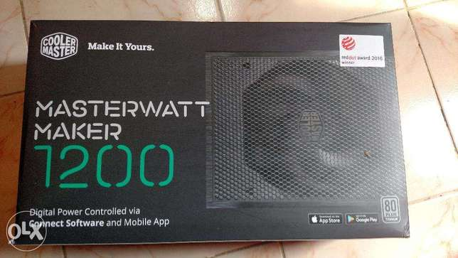 Cooler Master MasterWatt Maker PSU 1200W Power Supply 80PLUS Titanium