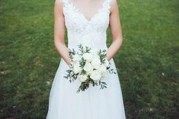 f9773a8a70 Suknia ślubna Laurita Annais Bridal By Ola La r. XS 34 kolor ecru