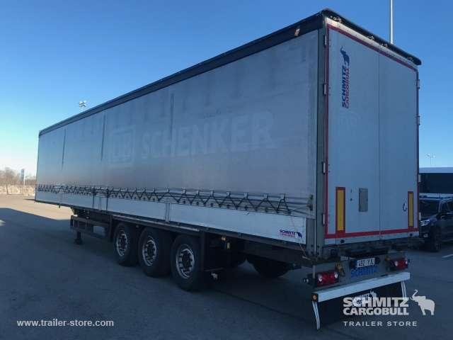 Schmitz Cargobull Curtainsider dropside - 2014