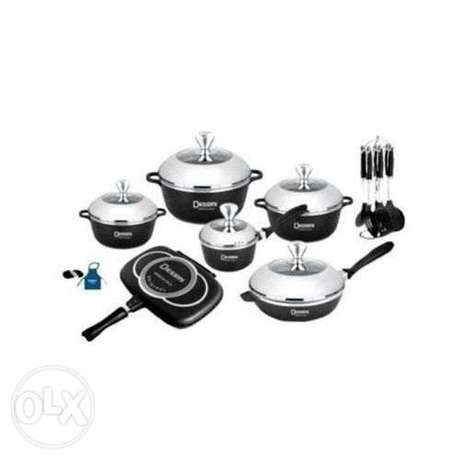 22pcs Dessini Heavy Duty Non-Stick Cookware set Nairobi CBD - image 2