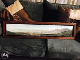Panorama of table mountain and cape town