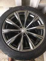 For Sale 20 Inch Rims with Tyres Set of 4 Used