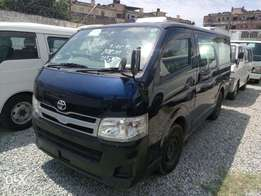 Toyota Hiace Auto Petrol. 2010 model KCN number. Loaded with alloy ri