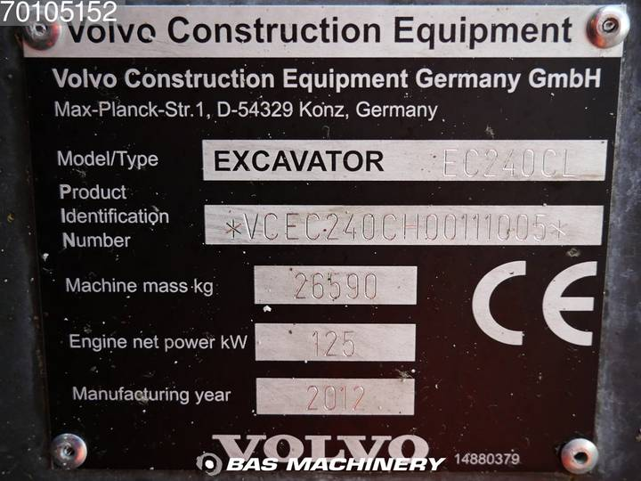 Volvo EC240CL - 2012 - image 19