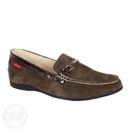 Jones M Chocolate Petroli Suede Shoe Lagos Mainland - image 1