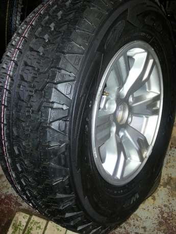245/70R16 Goodyear wrangler tyres with mags for Ford Ranger(4) on sal Pretoria West - image 2