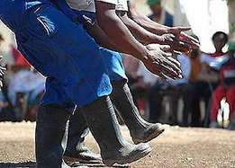 Great Gumboot Dance Group for Corporate Events