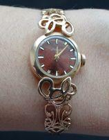 Наручные женские часы Наири в золотом корпусе f9ba2546bb6e8