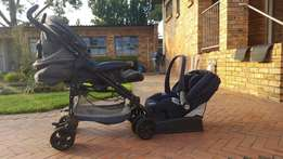Peg Perego Pram plus car seat
