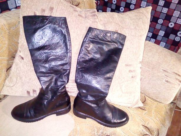 e590295c7fb Продам кожаные демисезонные сапоги (1000 руб.)  500 грн. - Женская ...