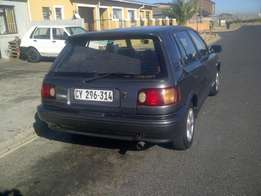 I'm selling my Toyota tazz as is