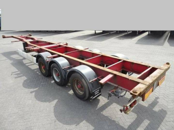 """HFR containerchassi hc 20"""" 30"""" 40"""" - 2004"""