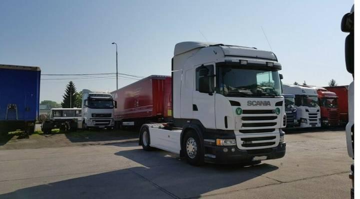 Scania R480 HIGHLINE, ADBlue, Kipphydraulik - 2013