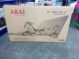 Unique Quality 40 Inches Akai Digital Tv Brand New at My Shop