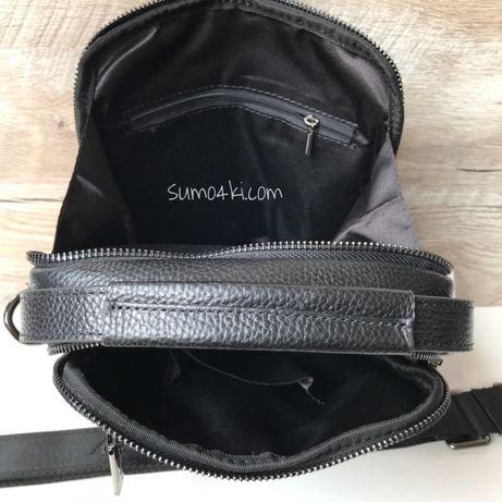f9d6159a4360 Модная мужская кожаная сумка барсетка Salvatore Ferragamo Одесса -  изображение 5