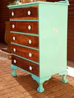 Stunning Ball and Claw Chest of Drawers for sale.