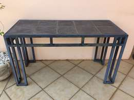 Black and Grey Slate Tile Patio Suit for sale